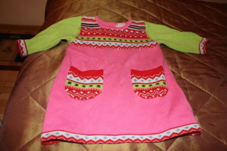 Продам платье вязаное