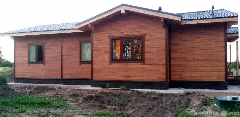 Продам Дома из клееного бруса кедр лиственница