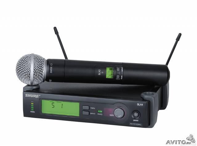 Продам SHURE SLX24/BETA58 микроф.радиосистема