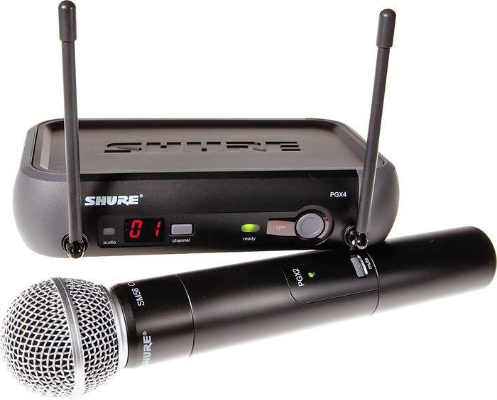 Продам Микрофон SHURE PGX24/SM58 радиосистема