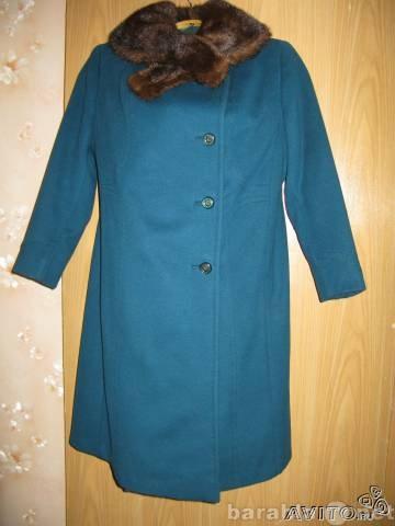 Продам Зимнее пальто драповое индивидуальный пошив в ат в Москве.