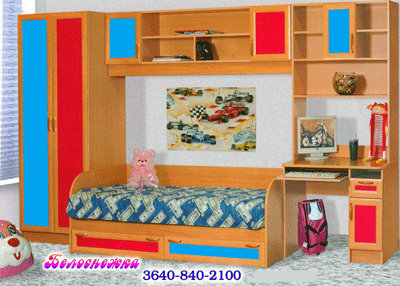 Продам: Стенка в детскую комнату