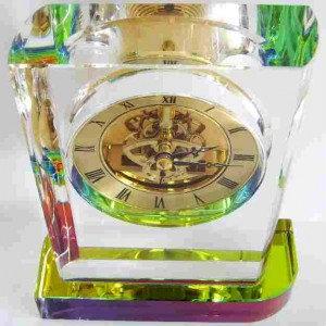 Продам: Часы из литого кварцевого стекла
