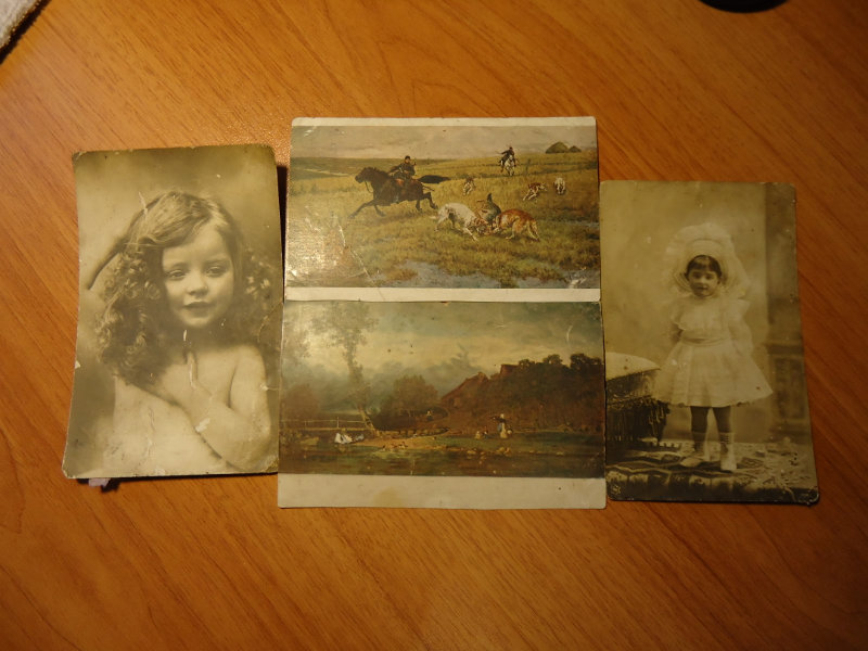 Хочу продать старинные открытки