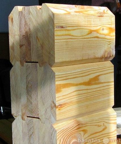 Продам Клееный профилированный брус из лиственн