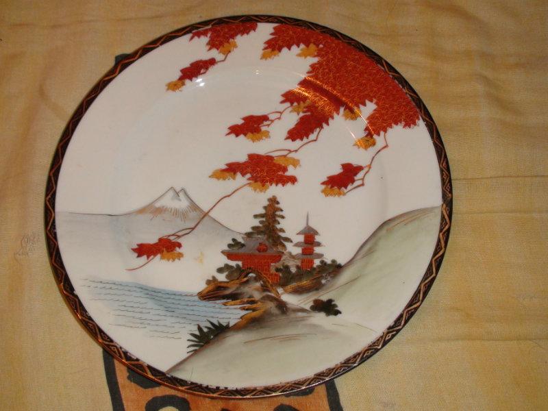 Продам тарелка настенная китайская Пагоды