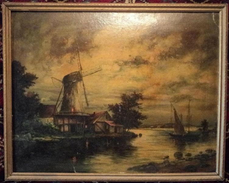 "Продам картина ""Raining Moonbeams"",19"