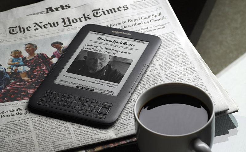 Продам Электронная книга Amazon Kindle3 3G+WiFi