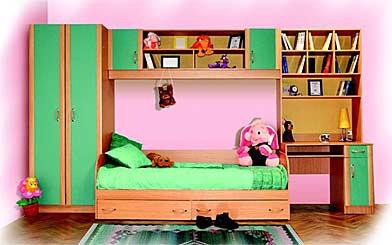 Продам Детская комната с кроватью и шкафами