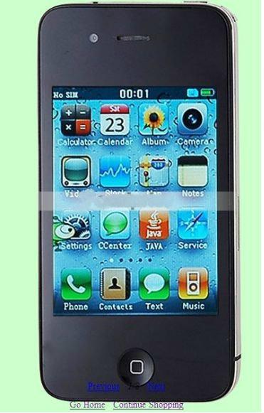 Продам: (не iPhone 4) - цветной телевизор - GPS