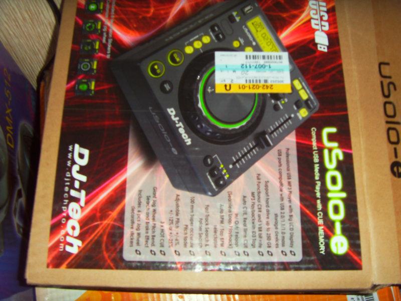 Продам DJ-Tech uSolo-e