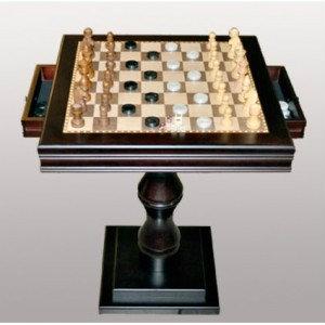 Продам Шахматный стол квадратный с ящичками