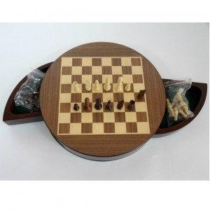 Продам: Шахматы Круглые магнитные деревянные