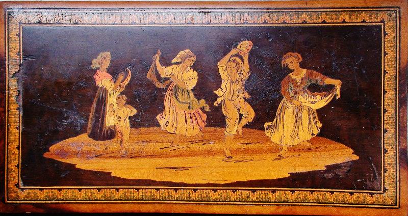 Продам: 18в панно деревянное марки три с танцо