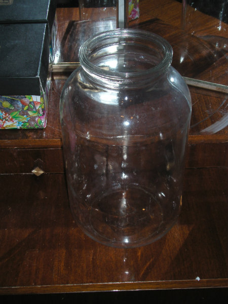 Приму в дар: стеклянная банка 5 литров  нестандартная