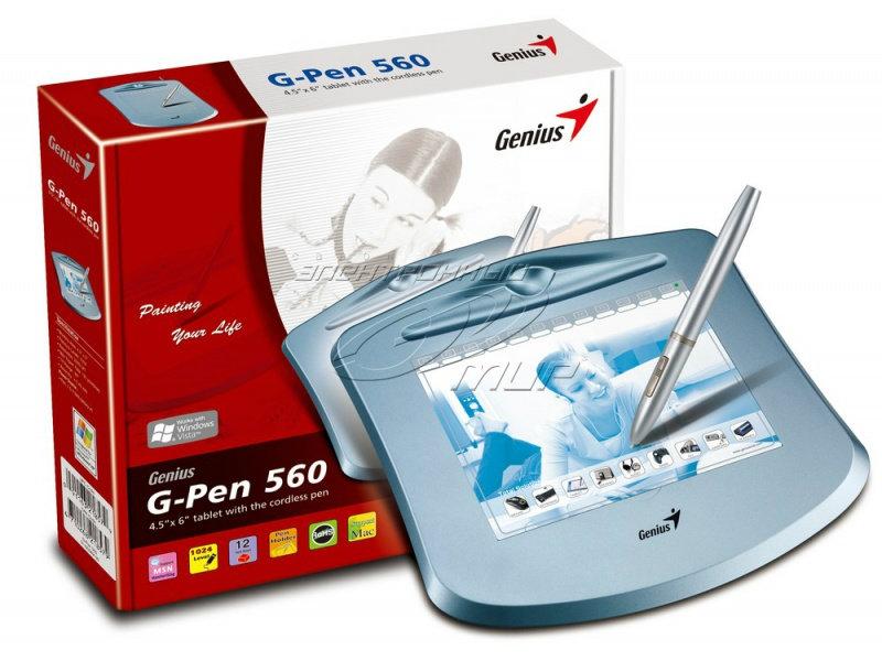 Продам Графический планшет Genius G-Pen 560 .Но