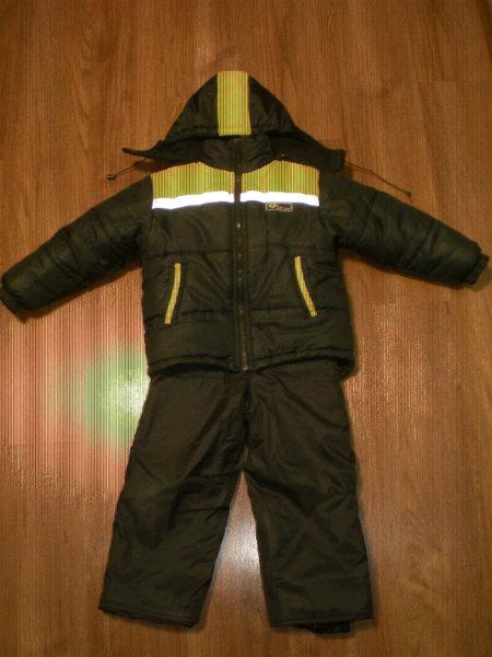 Продам Костюм зимний (куртка+штаны), с 4-6 лет