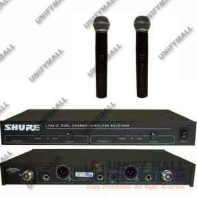 Продам микрофон SHURE LX88-II радиосистема 2МИК