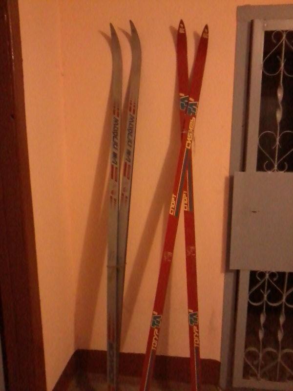 Продам: лыжи