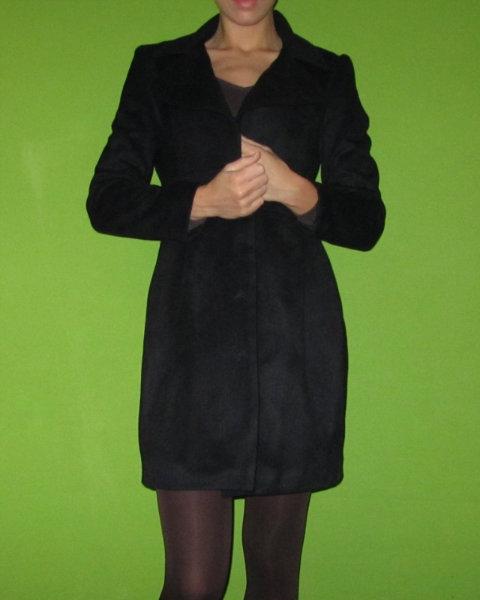 Продам Пальто mumuwu черное размер 44(M)