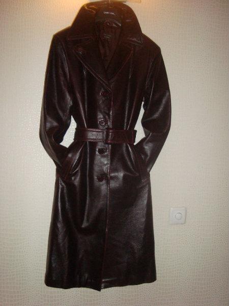 Продам: кожаный плащ
