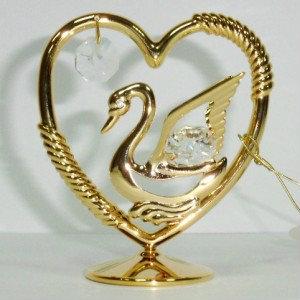 Продам: Сувенир Лебедь золото и кристаллы