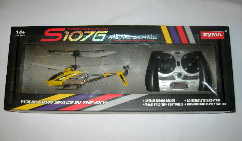 Продам Вертолет на радиоуправлении syma 107