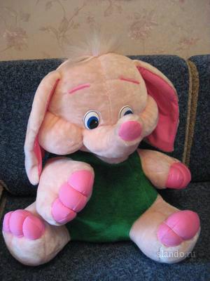 Продам Мякая игрушка - розовый слон