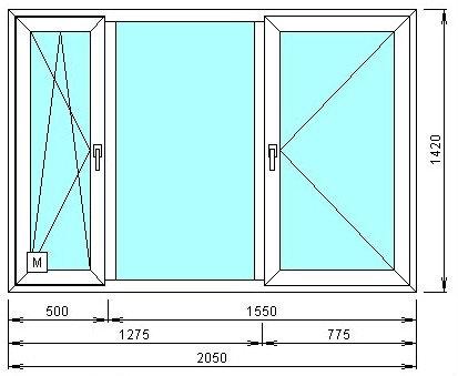 Продам: Пластиковое окно от производителя