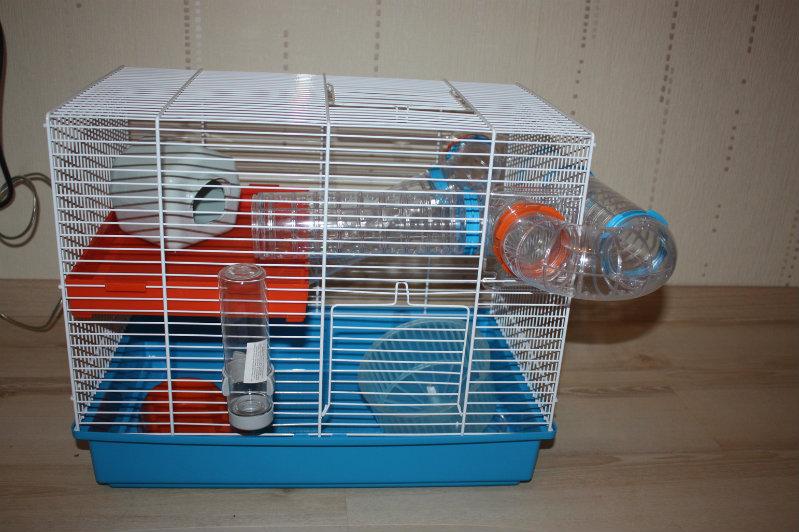 Продам: Клетка для грызунов + аксессуары