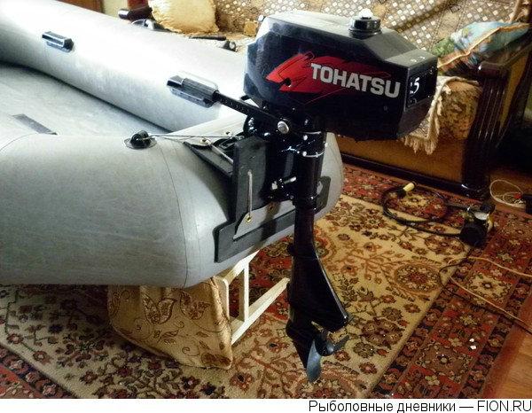 Продам Лодочный мотор Tohatsu M 2.5 A2 S