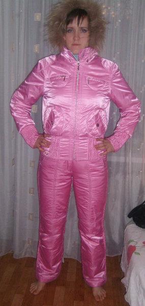 Продам: Классный розовый Лыжный костюм