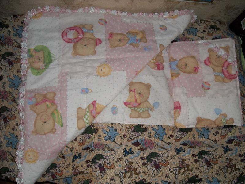 Продам Комплект в коляску (одеяло+матрасик+поду