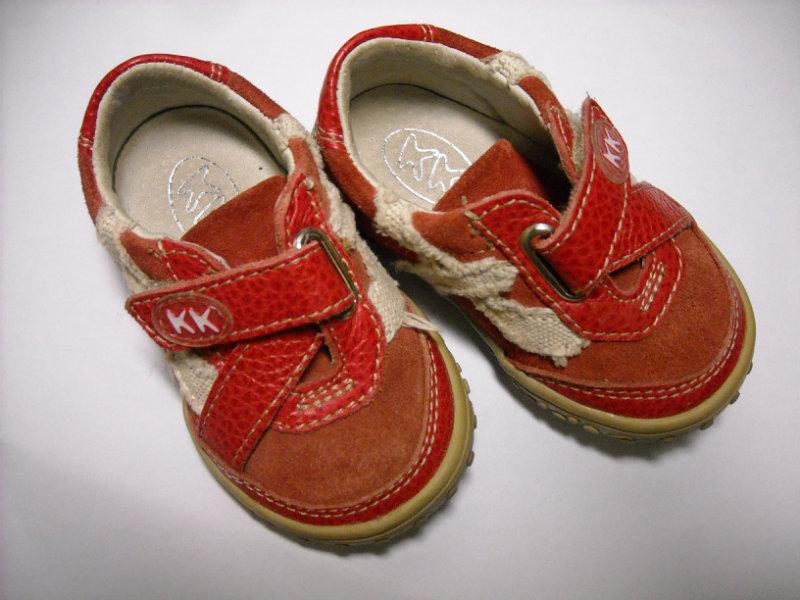 Продам Кожаные ботинки 19 р-р
