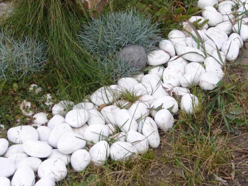 Продам: белая галька из мрамора