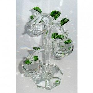 Продам: Шикарная хрустальная яблоня сувенир