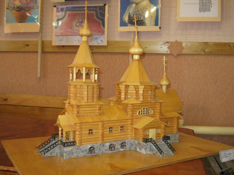 Продам Деревянная церковь