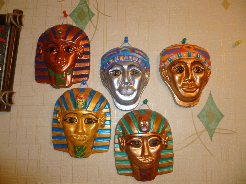 Продам барельефы - египетские маски