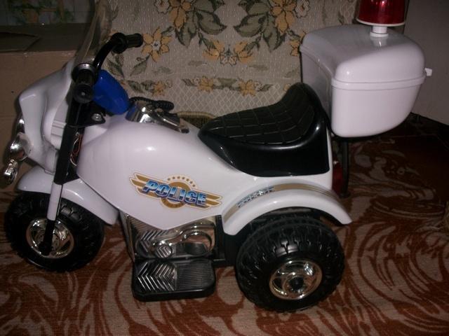Продам: Трех колесный мотоцикл на аккамуляторе