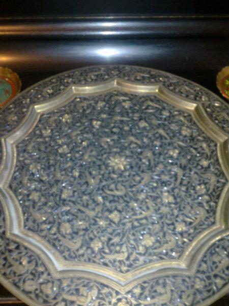 Продам индийское медное блюдо