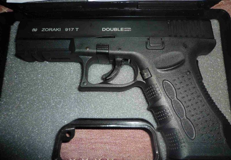 Продам Продам  сигнальный пистолет zoraki 917.