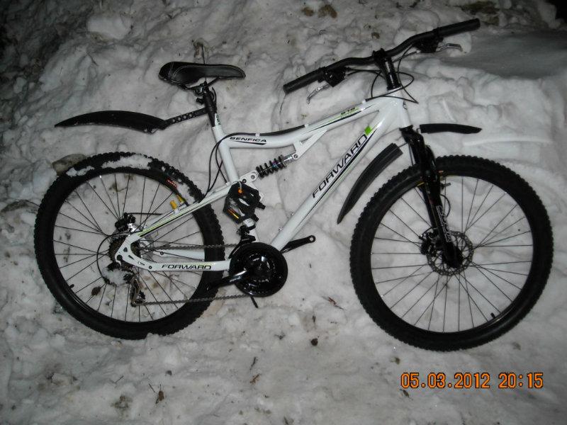 Продам велосипед 2-ух подвесный; ДИСК