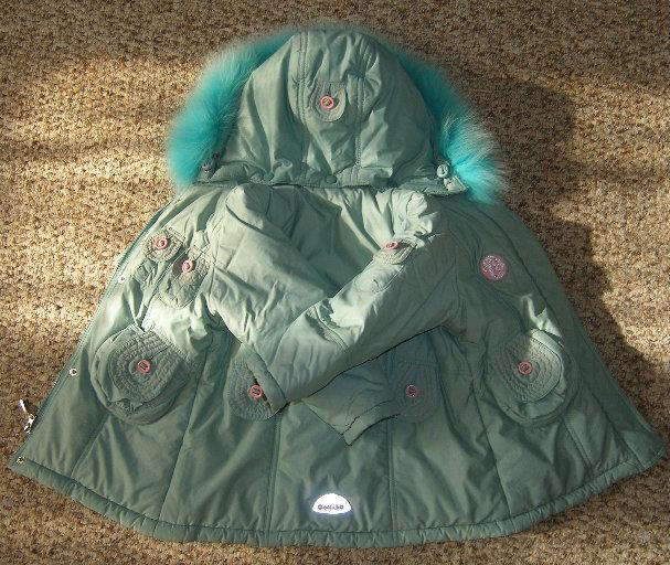 Продам Куртка зимняя для девочки рост 92