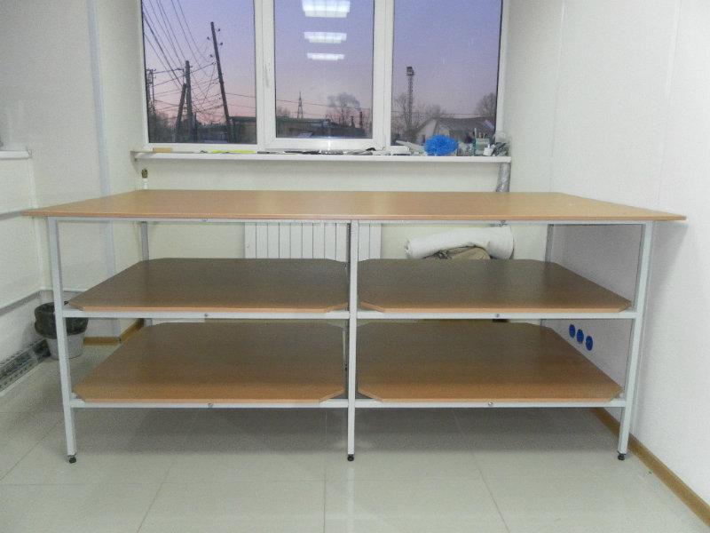 Стол для раскроя ткани екатеринбург купить ткани из полиэфирного сырья