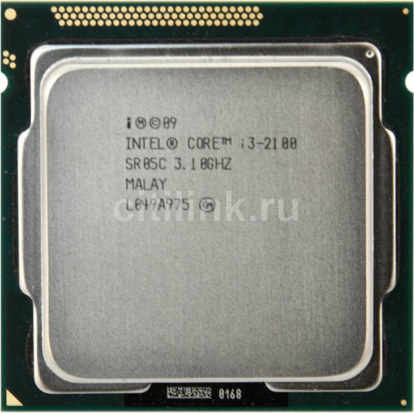 Продам Процессор INTEL Core i3 2100, LGA 1155,