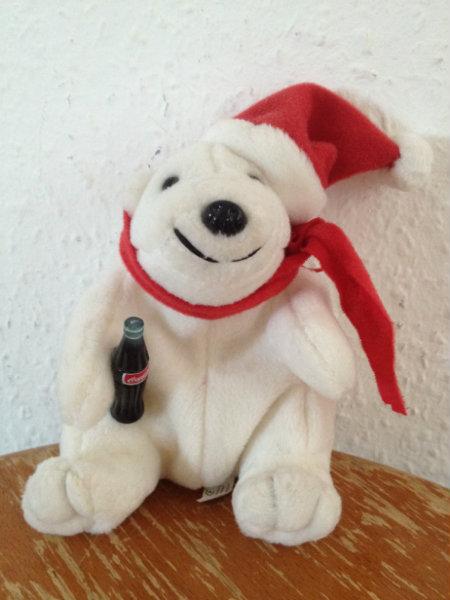 Продам Белый мишка с бутылкой каколлы