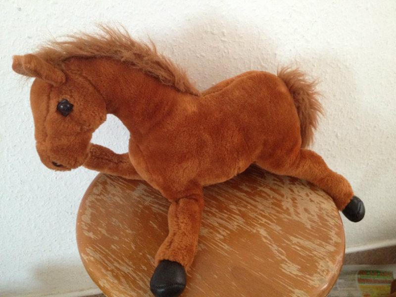 Продам Милая плюшевая лошадка