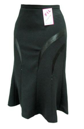 Продам Элегантная юбка-гадэ, р50см, длина 75см