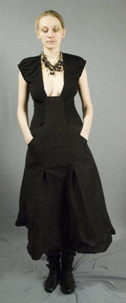 Продам Платье черное хлопковое, не фабричное