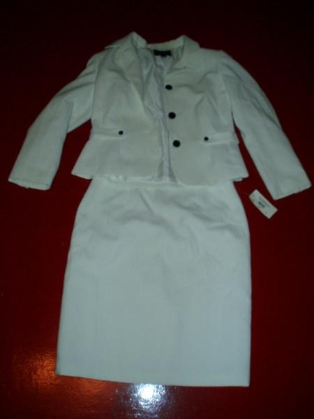 Продам: Белый женский кстюм 50-52р